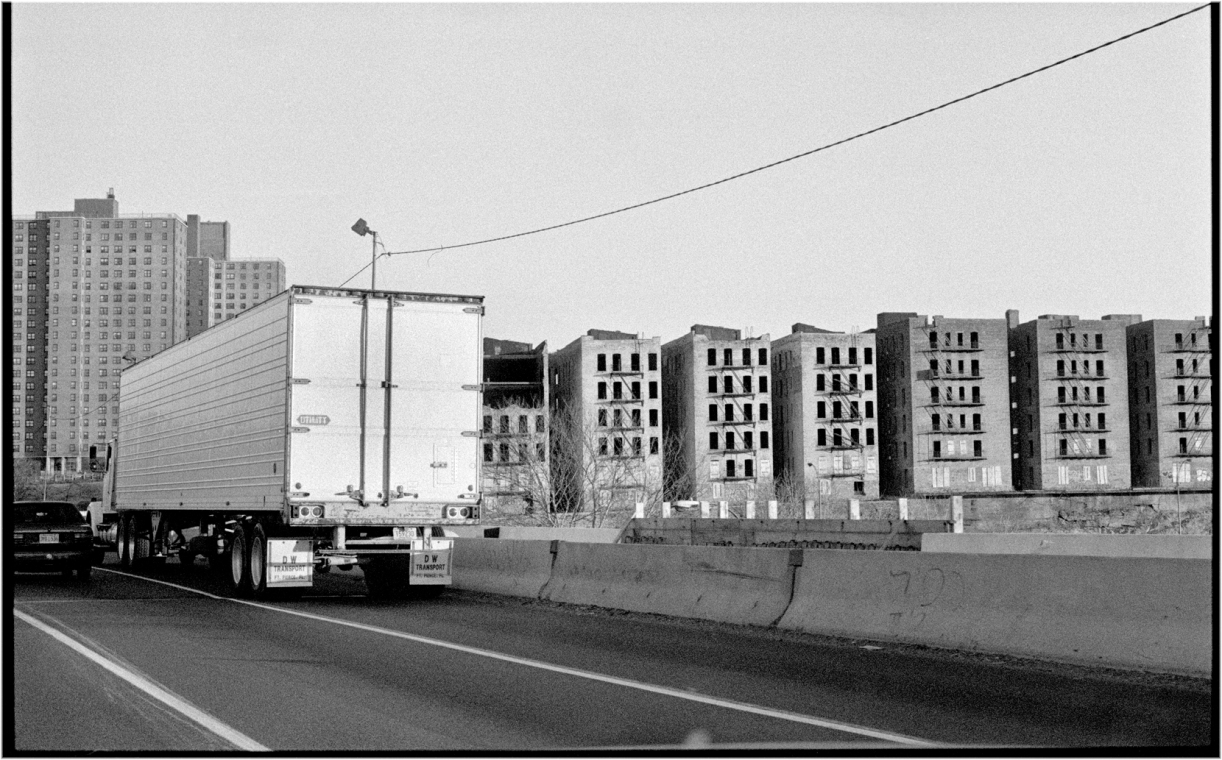 The Cross Bronx Expressway 1990 – Black and White Street
