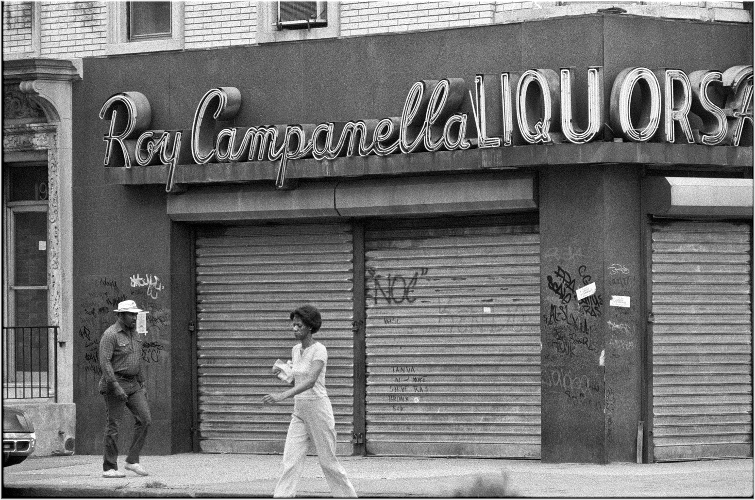 harlemroycampanella1985 copy � black and white street