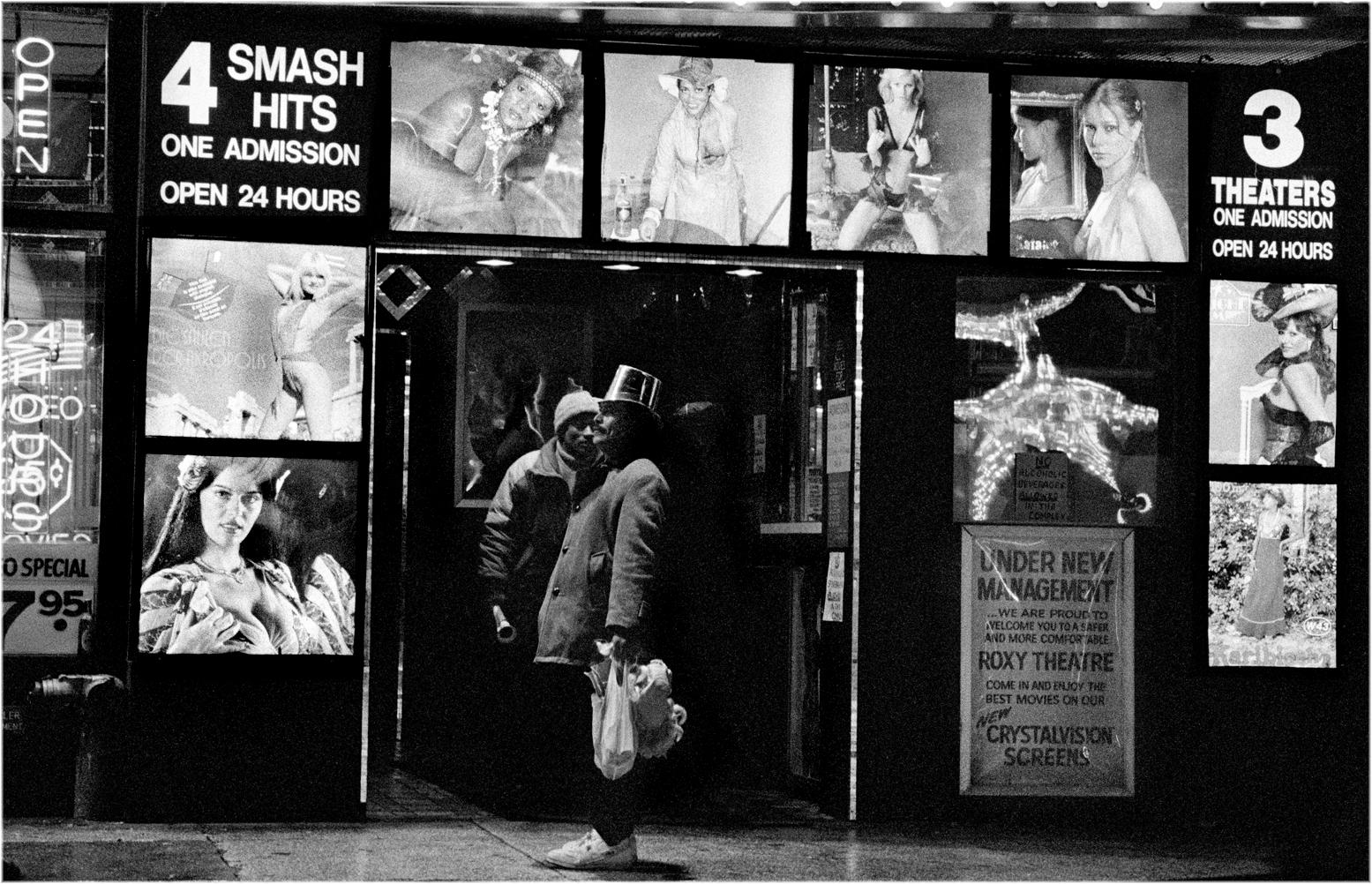 ... (Street photography), 42d Street, Black & White photos