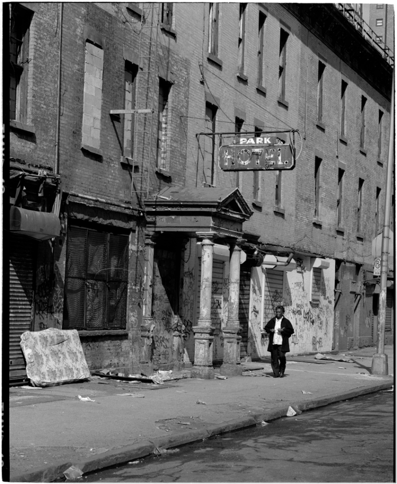 Park Ave Hotel 1986 Black And White Street Photographs Of New York City By Matt Weber