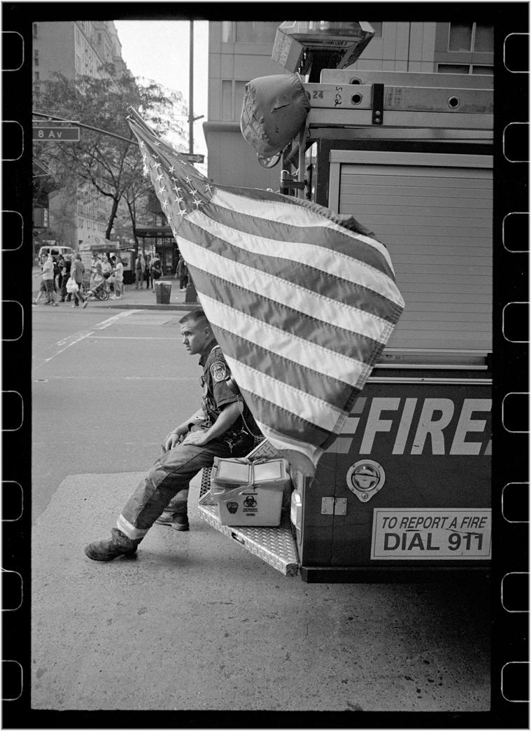 flag-old-glory-fireman