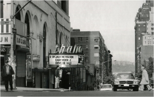 photograph of the Thalia Theatre by Matt Weber, 1986
