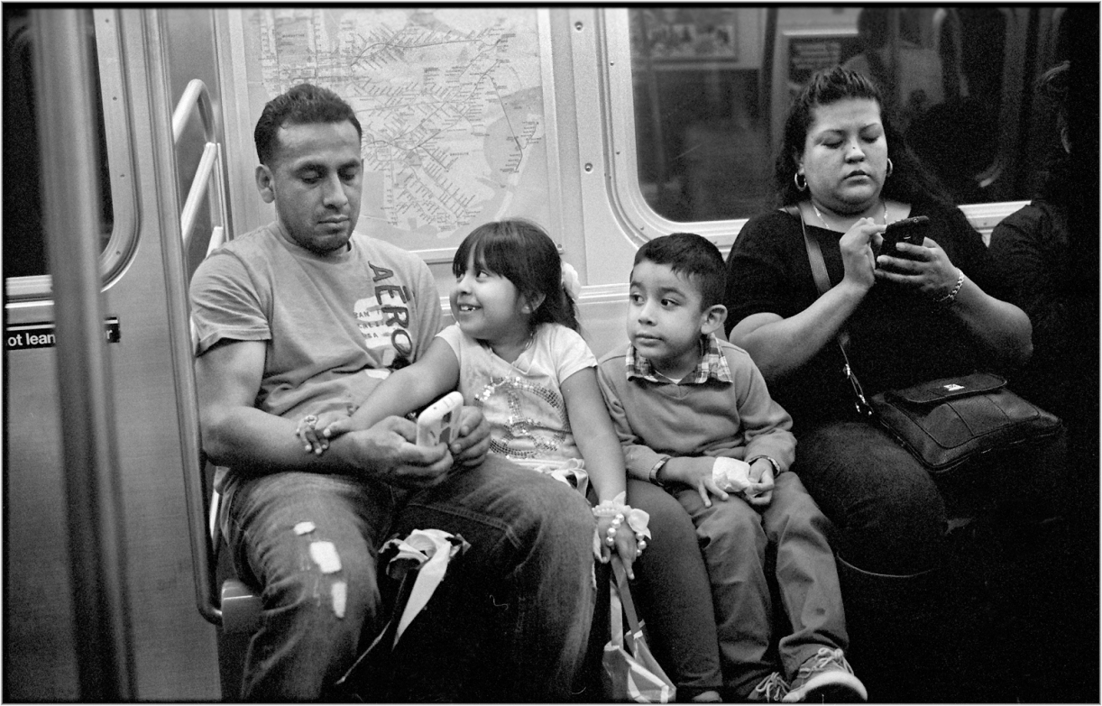 family-subway-matt-weber