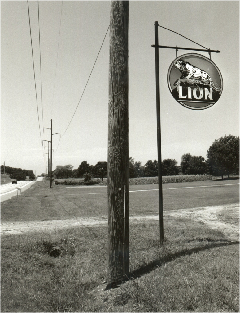 LION-gasoline-Sign-matt-weber