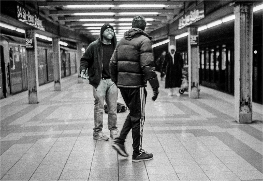 fight-subway-nyc-matt-weber
