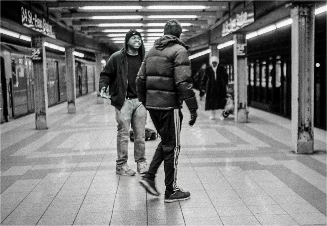 fight-subway-nyc-matt-weber