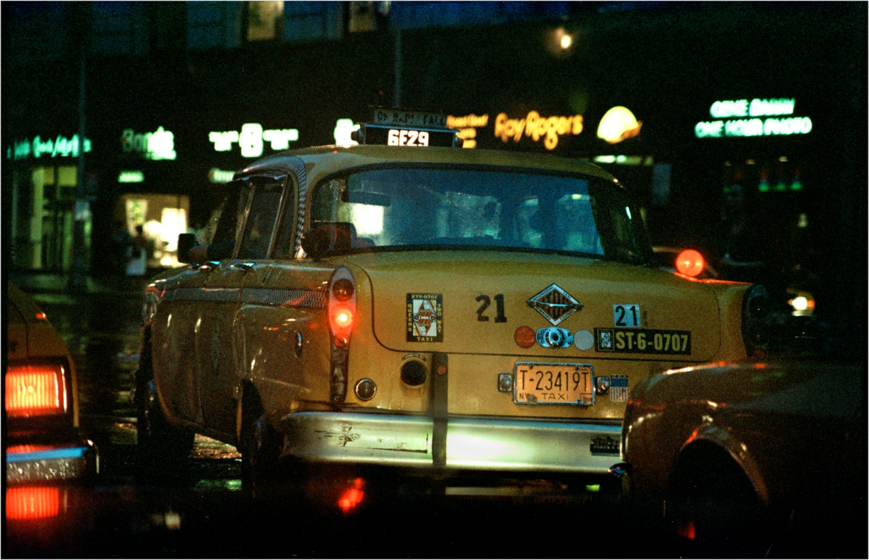 Checker Taxi – Black and White Street Photographs of New ...
