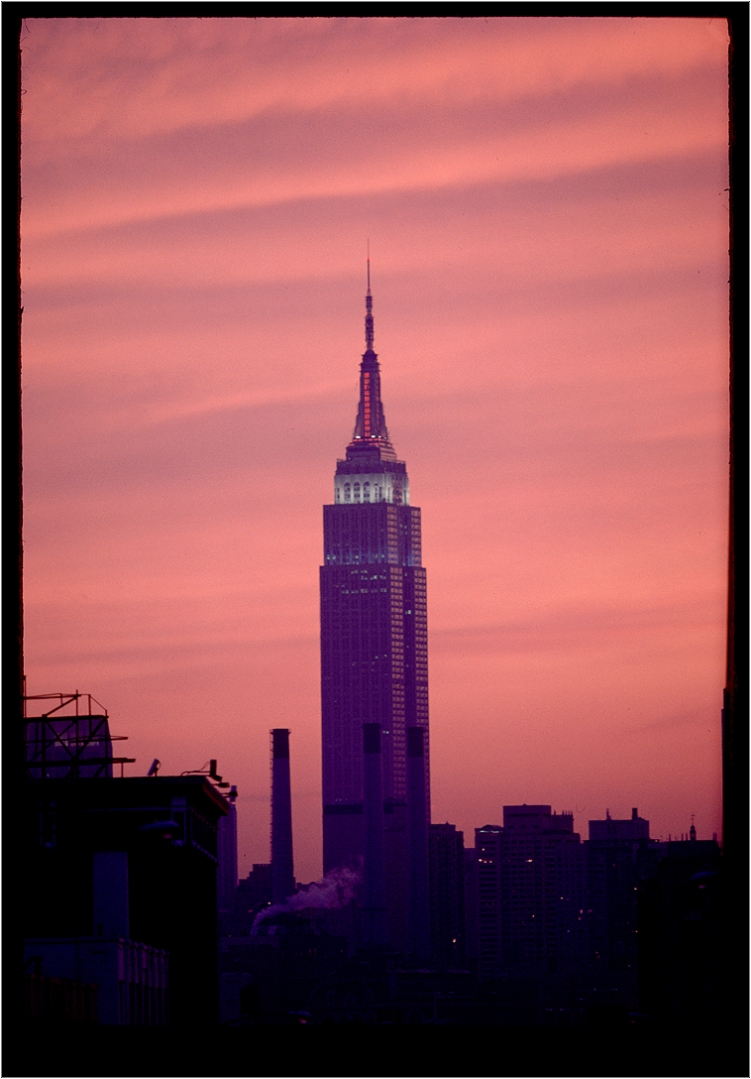 empire state building sunset - photo #29