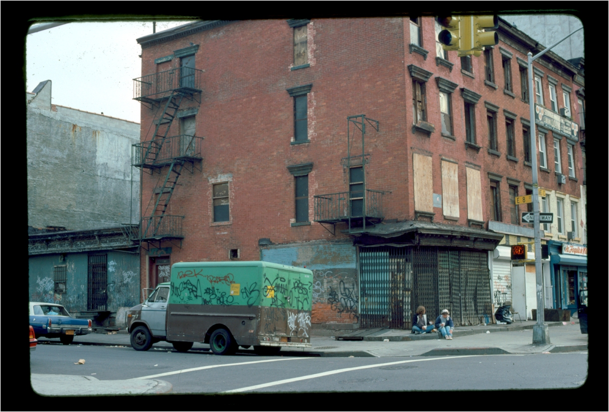 """Alphabet City"" 1986 urban-blight"
