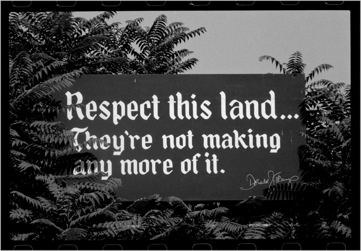 DonaldTrump-RespectThisLandSign-1985 copy