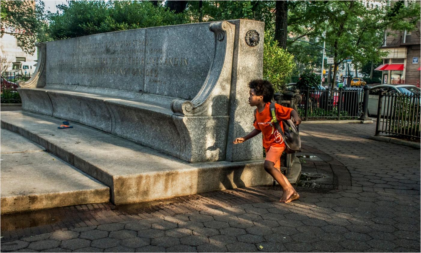 Black-Boy-Running-Fountain copy