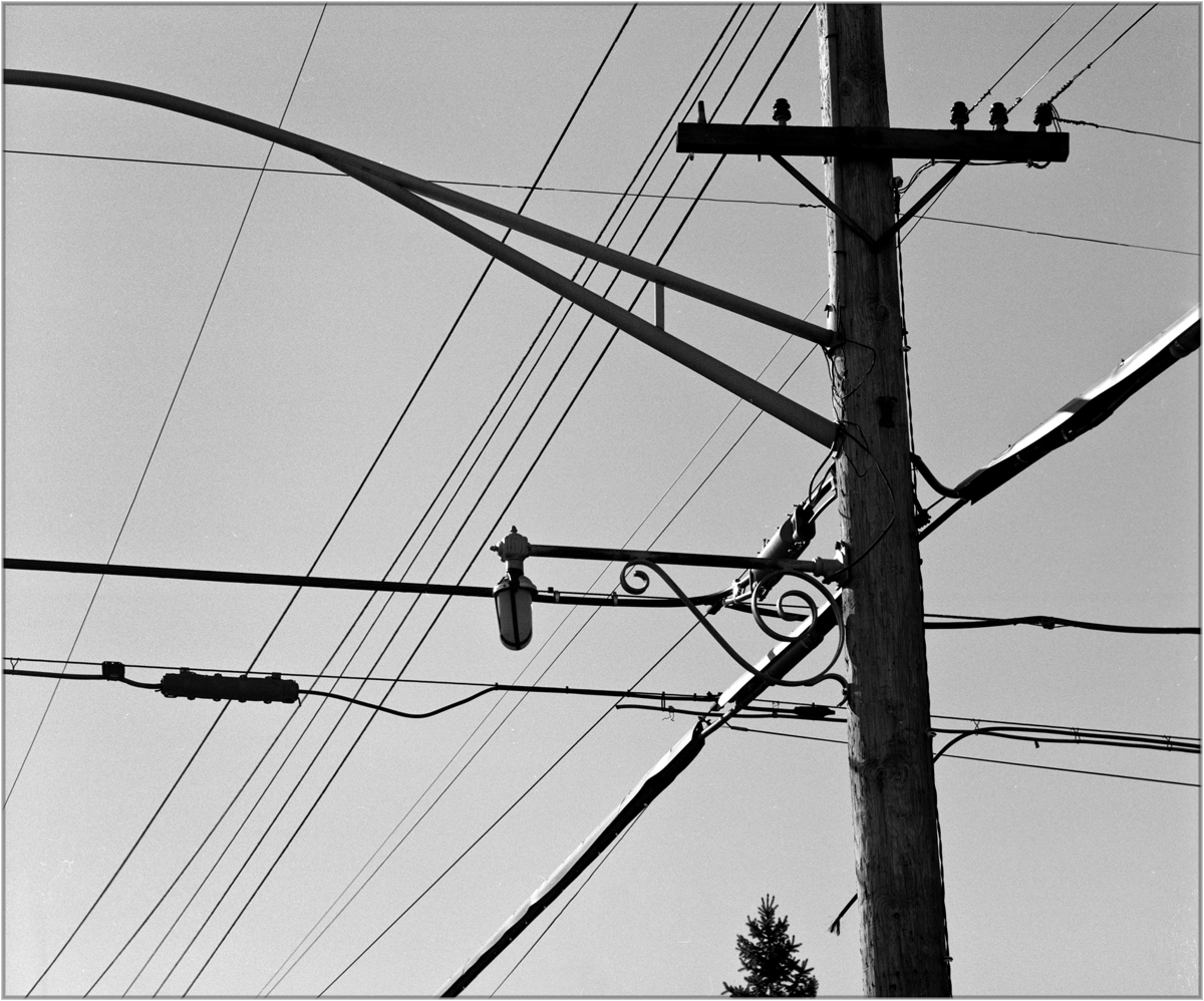 Bronx Telephone Pole 1987 – Black and White Street Photographs of ...