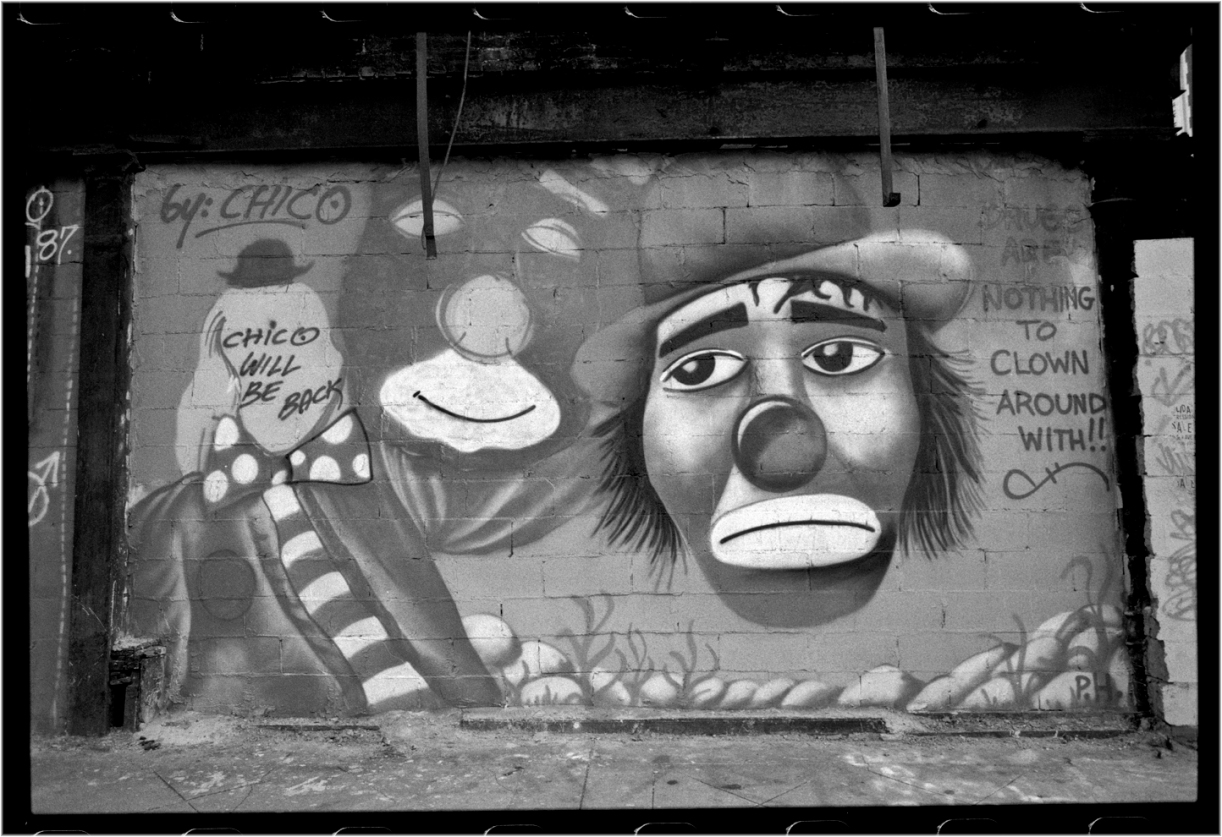 Chico-DrugClown-Grafitti-1987 copy