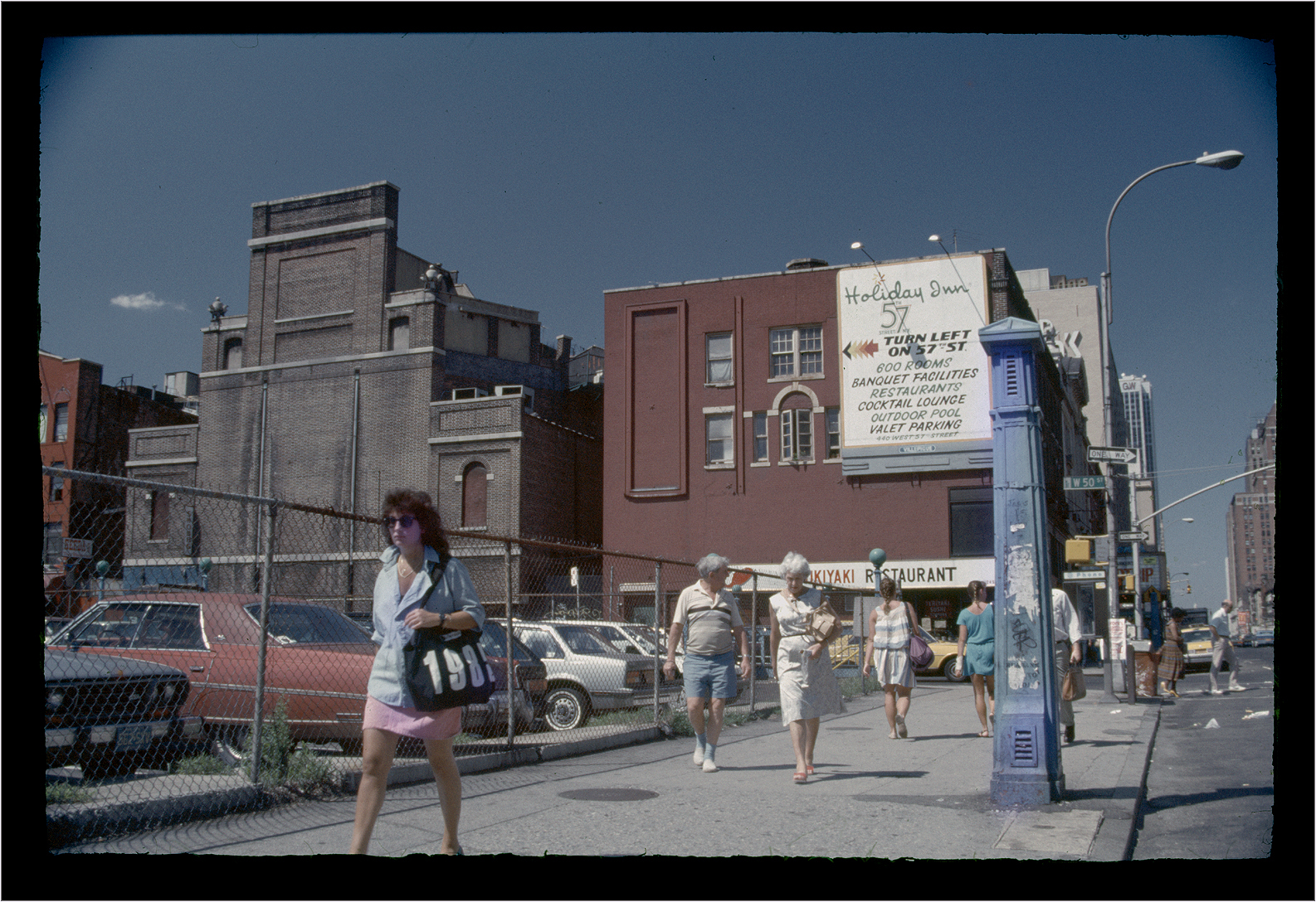 The Site Of The Old Madison Square Garden 1985