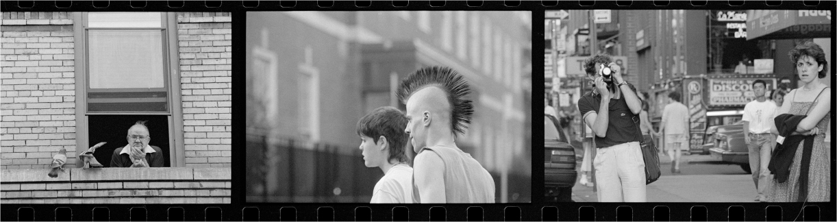 Triptych-Pigeon-Punk-Tourist-1988 copy