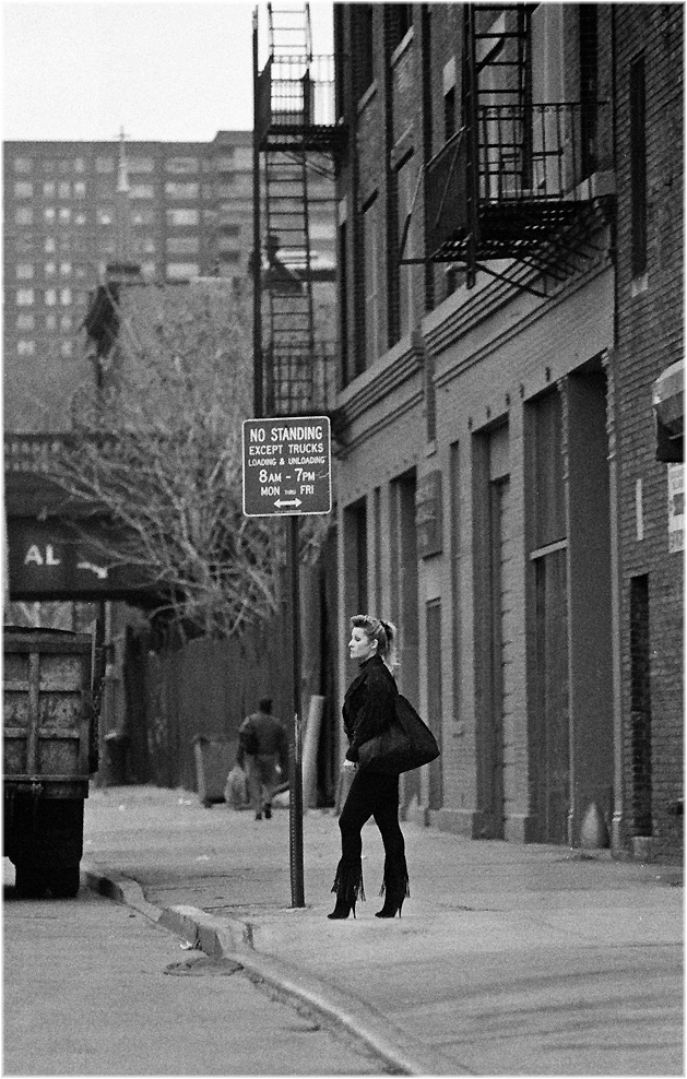 Prostitute Black And White Street Photographs Of New
